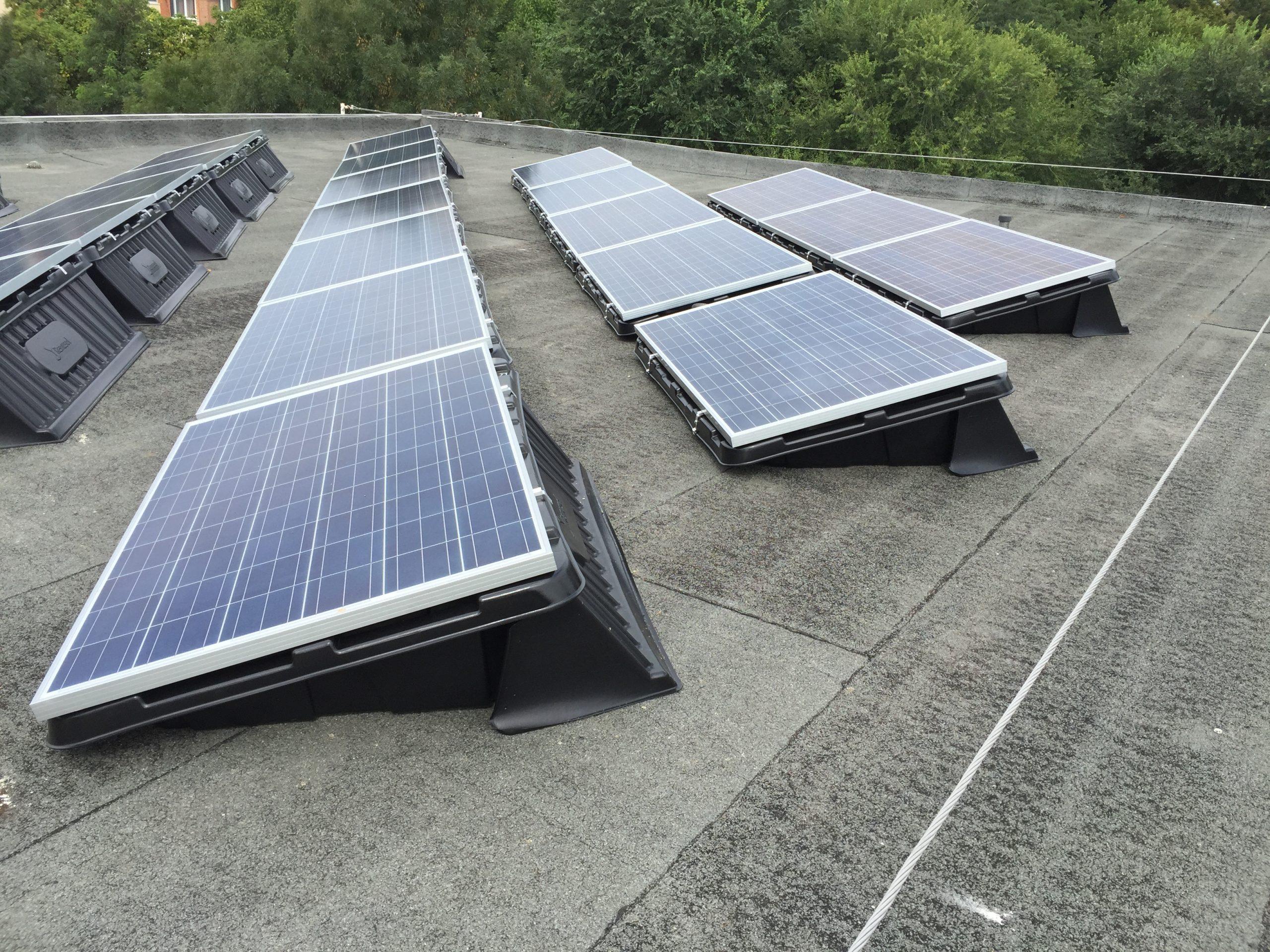 Tetőre szerelt rendszerek 1-50kW, 50-1000kW
